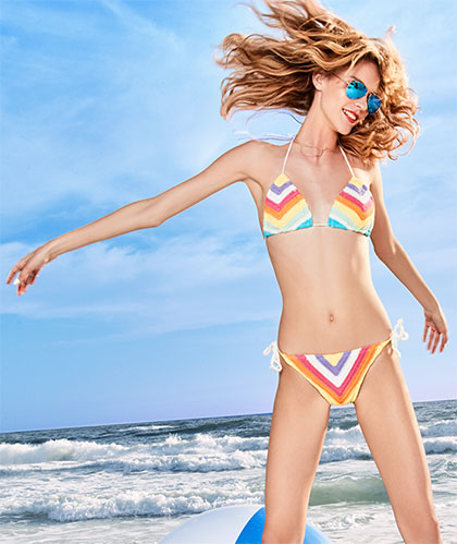 Swimwear guide: leap in a bikini