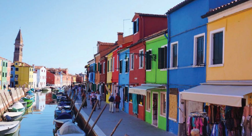 'VENICE IS LIKE A FAIRYLAND FOR ADULTS'