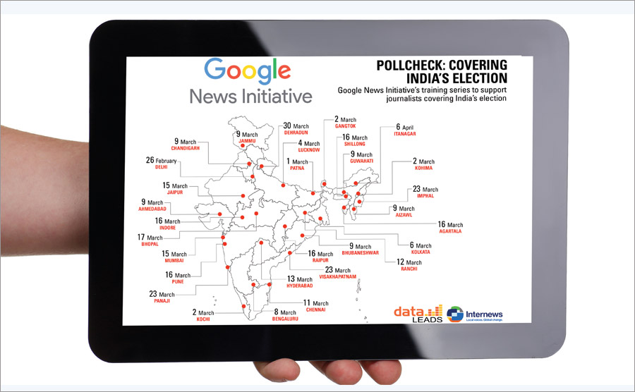 GOOGLE NEWS TO TRAIN JOURNALISTS BEFORE ELECTIONS
