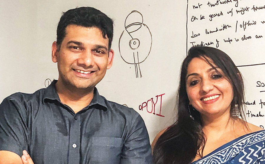 BANSAL, BHADURI JHA LAUNCH NEW-AGE MEDIA COMPANY, OPOYI