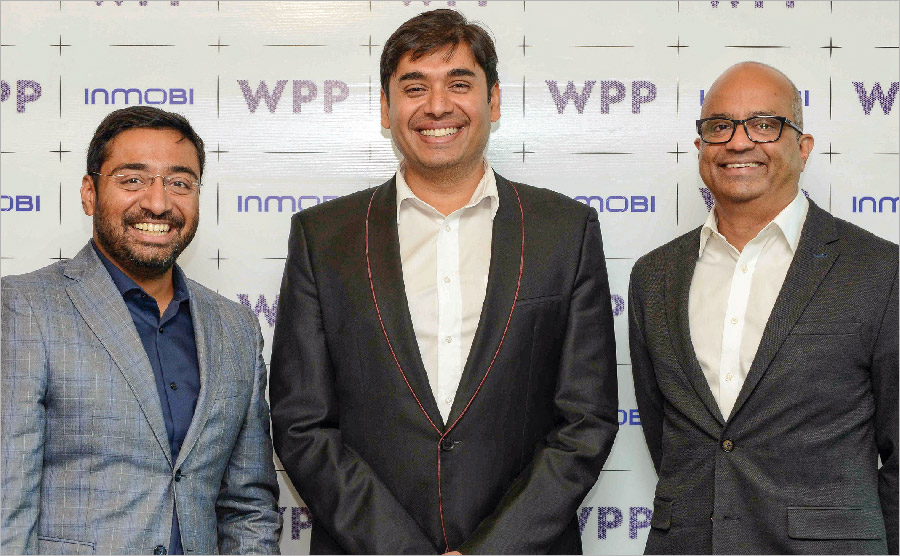 WPP & INMOBI SET TO 'SHAPE THE MARKET'
