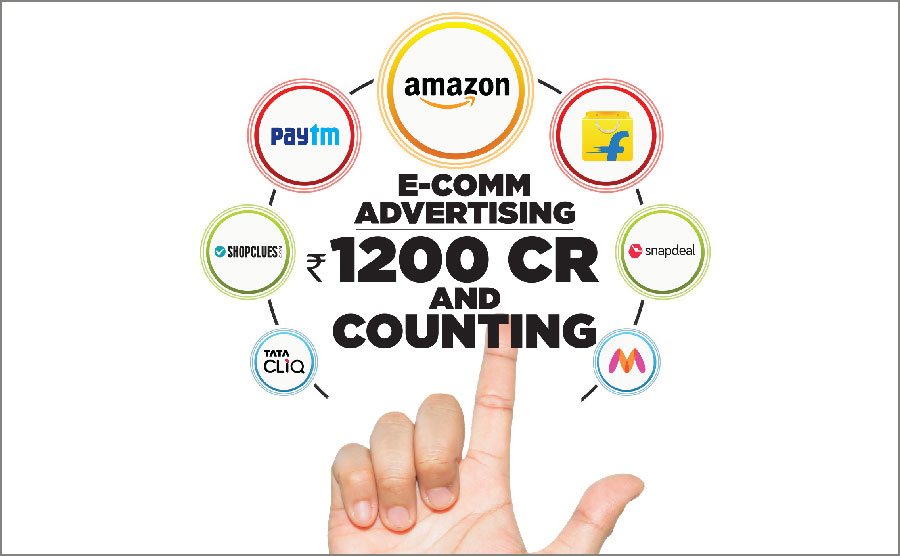 E-COMM ADVERTISING: RS 1200 CR AND COUNTING...