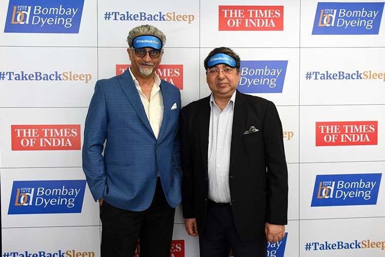 #TAKEBACKSLEEP IS BOMBAY DYEING'S WAY OF BUILDING A HEALTHIER INDIA: ALOKE BANERJEE