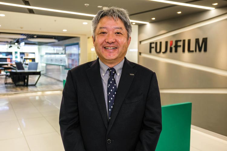 WHY FUJIFILM IS ZOOMING IN ON HEALTHCARE SOLUTIONS: HARUTO IWATA
