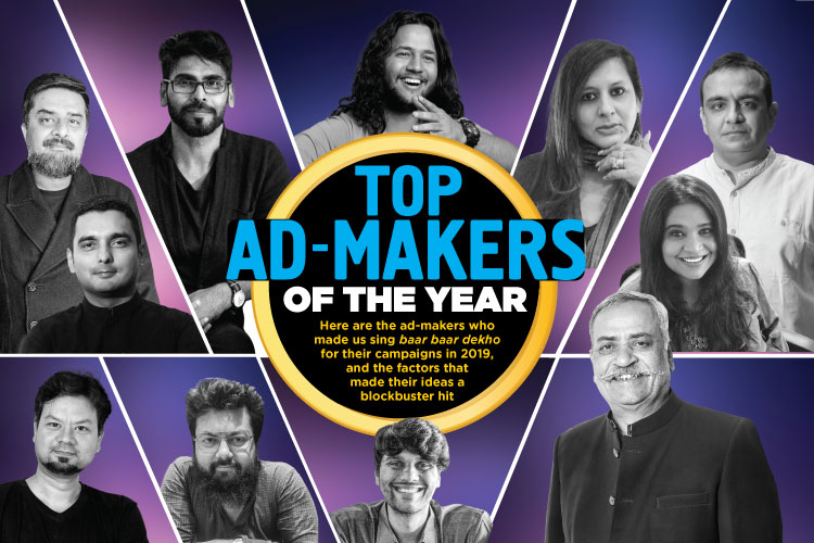 TOP AD-MAKERS OF THE YEAR
