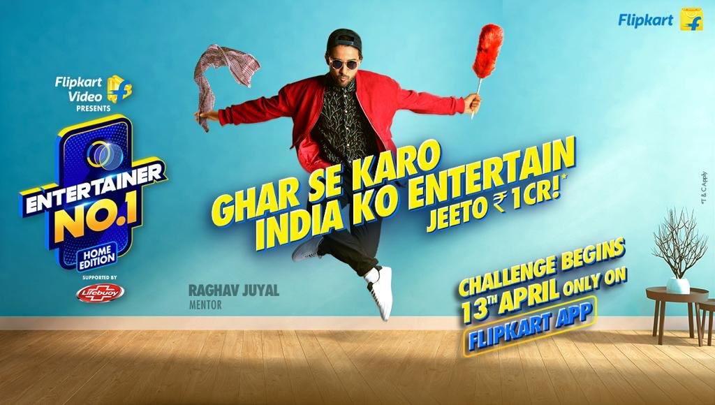 FLIPKART UNVEILS CAMPAIGN FOR ITS NEW REALITY SHOW - 'ENTERTAINER NO.1'