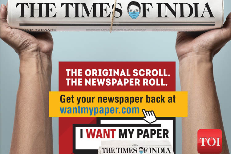 TOI CAMPAIGN URGES 