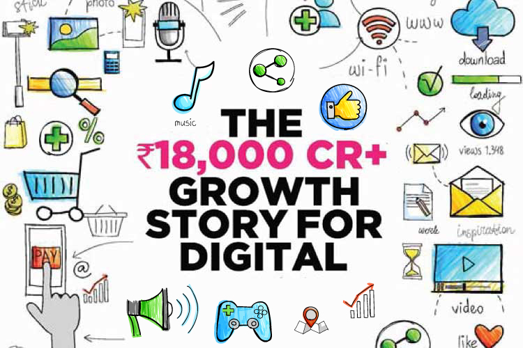 THE RS 18,000 CR+ GROWTH STORY FOR DIGITAL