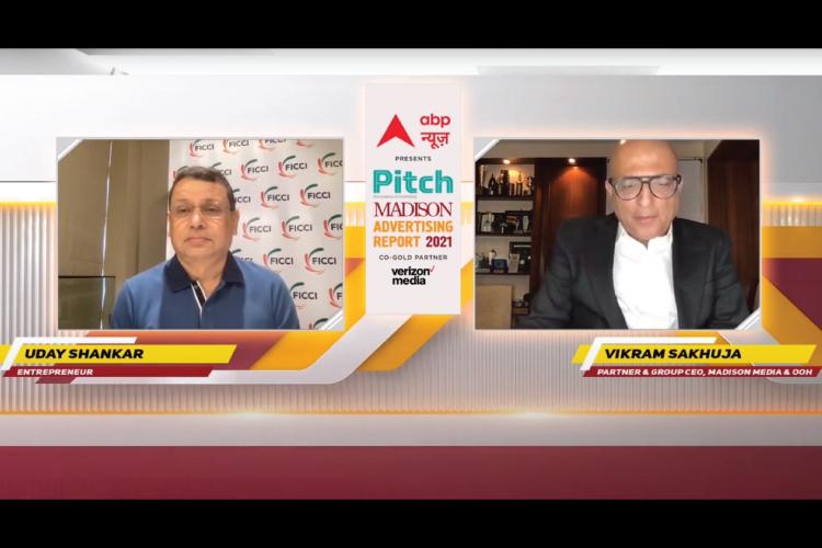 Advertising is still considered a big company's game: Uday Shankar