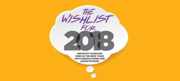 THE WISHLIST FOR 2018