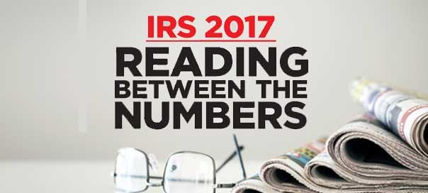 IRS 2017 READING BETWEEN THE NUMBERS