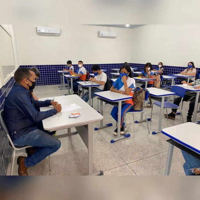 Retomadas hoje as aulas presenciais da rede municipal