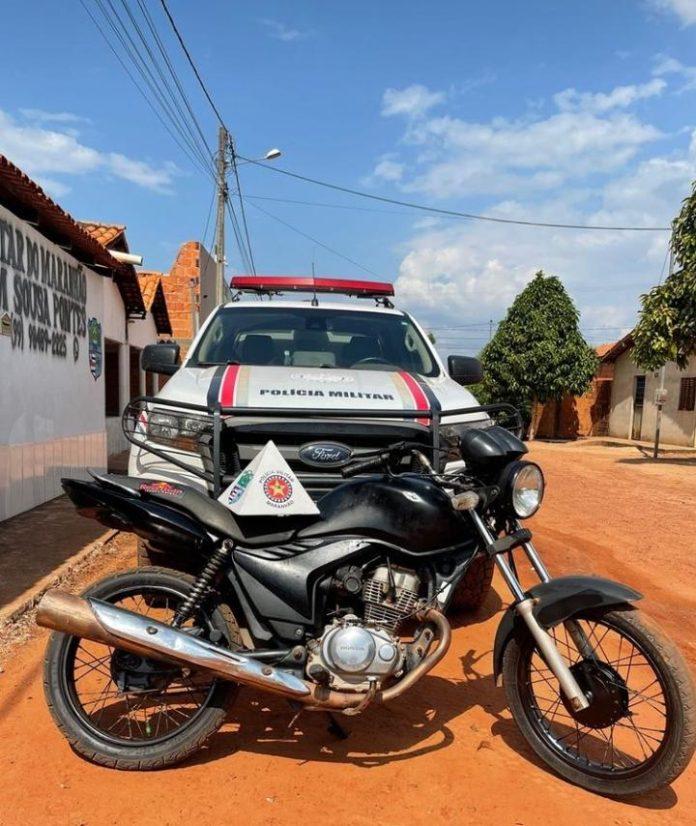 Adolescente é apreendido após comprar moto furtada
