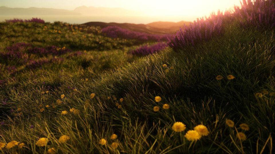 Screenshot in CryEngine from the unnamed project.