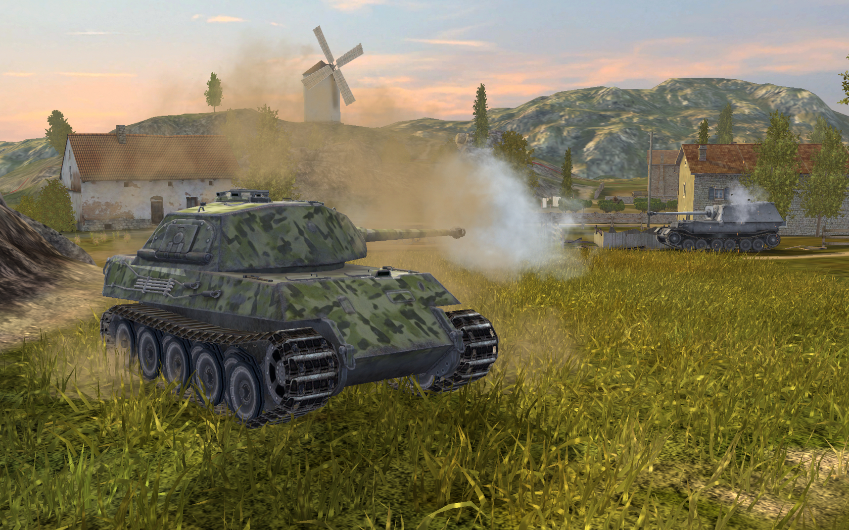 Team-killing is punished in World of Tanks - but that doesn't always stop it.