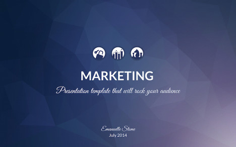 Marketing Keynote Template  Improve Presentation