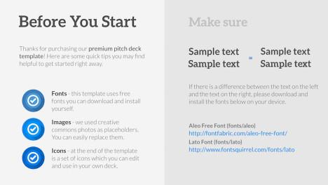 pitch deck premium powerpoint template improve presentation. Black Bedroom Furniture Sets. Home Design Ideas