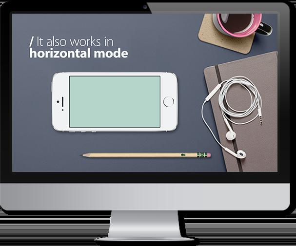 iphone app powerpoint template � improve presentation