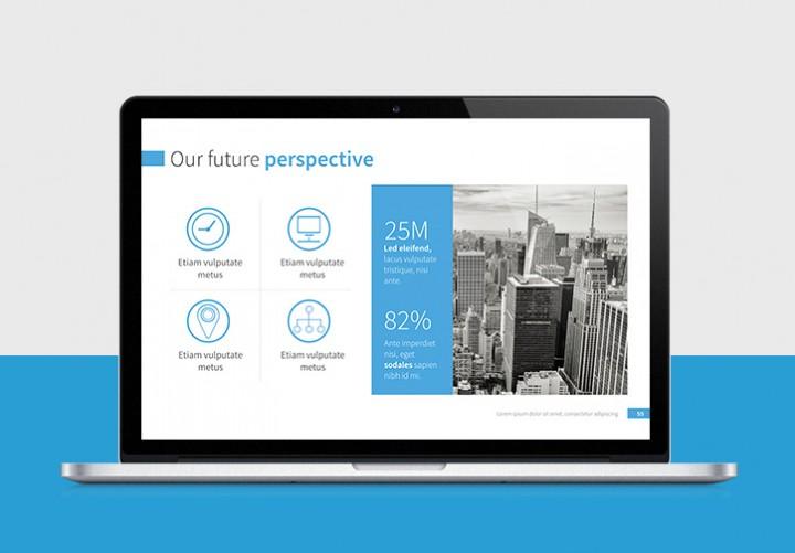 Professional Presentation Templates – Sales Presentation Template