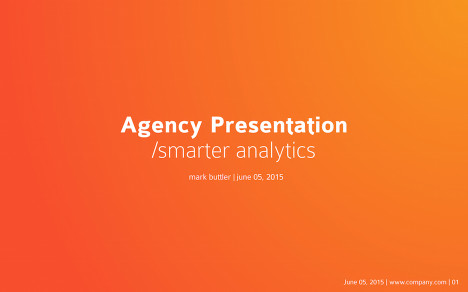 agency-presentation-template image