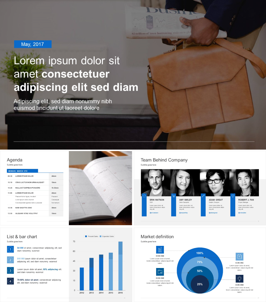 Best powerpoint templates for 2018 improve presentation ultimate business powerpoint template toneelgroepblik