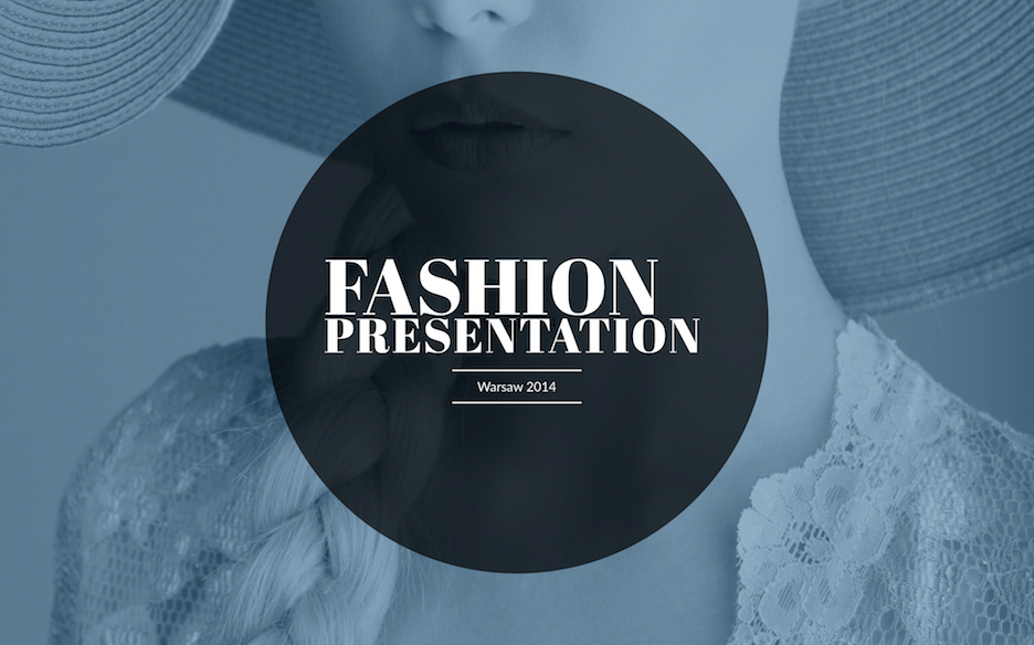 fashion ppt
