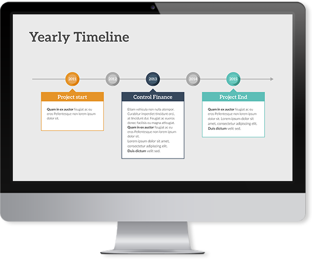Timeline Keynote Template Improve Presentation - Timeline template keynote