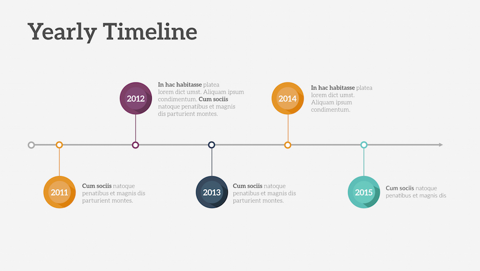 timeline presentation template | improve presentation, Powerpoint templates