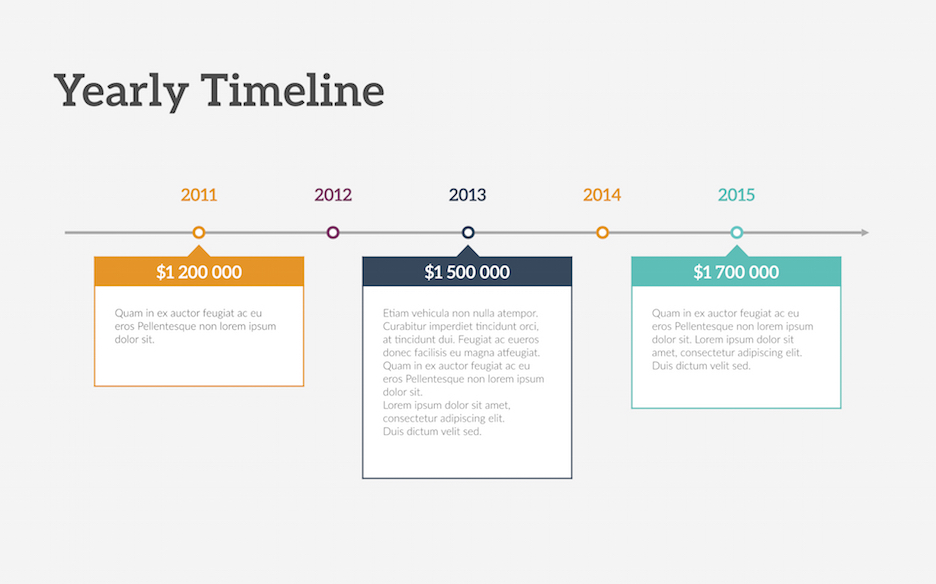 timeline keynote template | improve presentation, Powerpoint templates