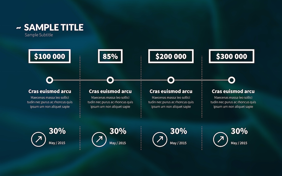 business plan powerpoint template improve presentation