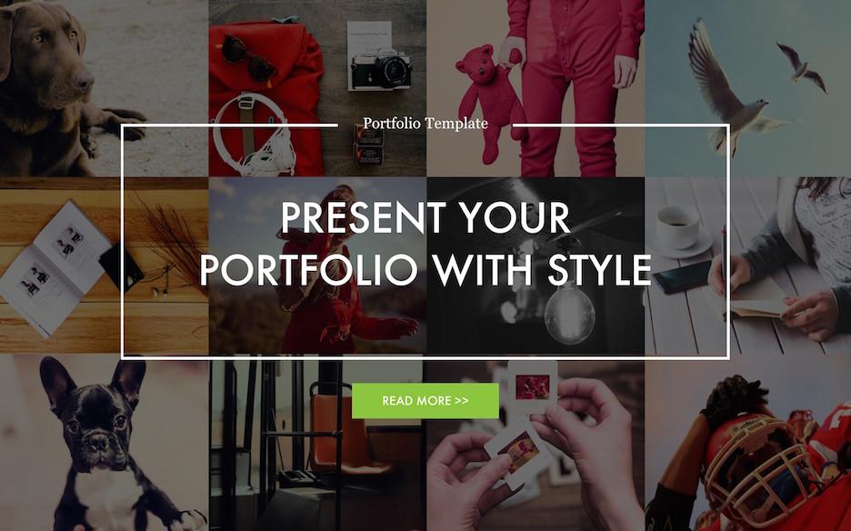 portfolio-powerpoint-template image