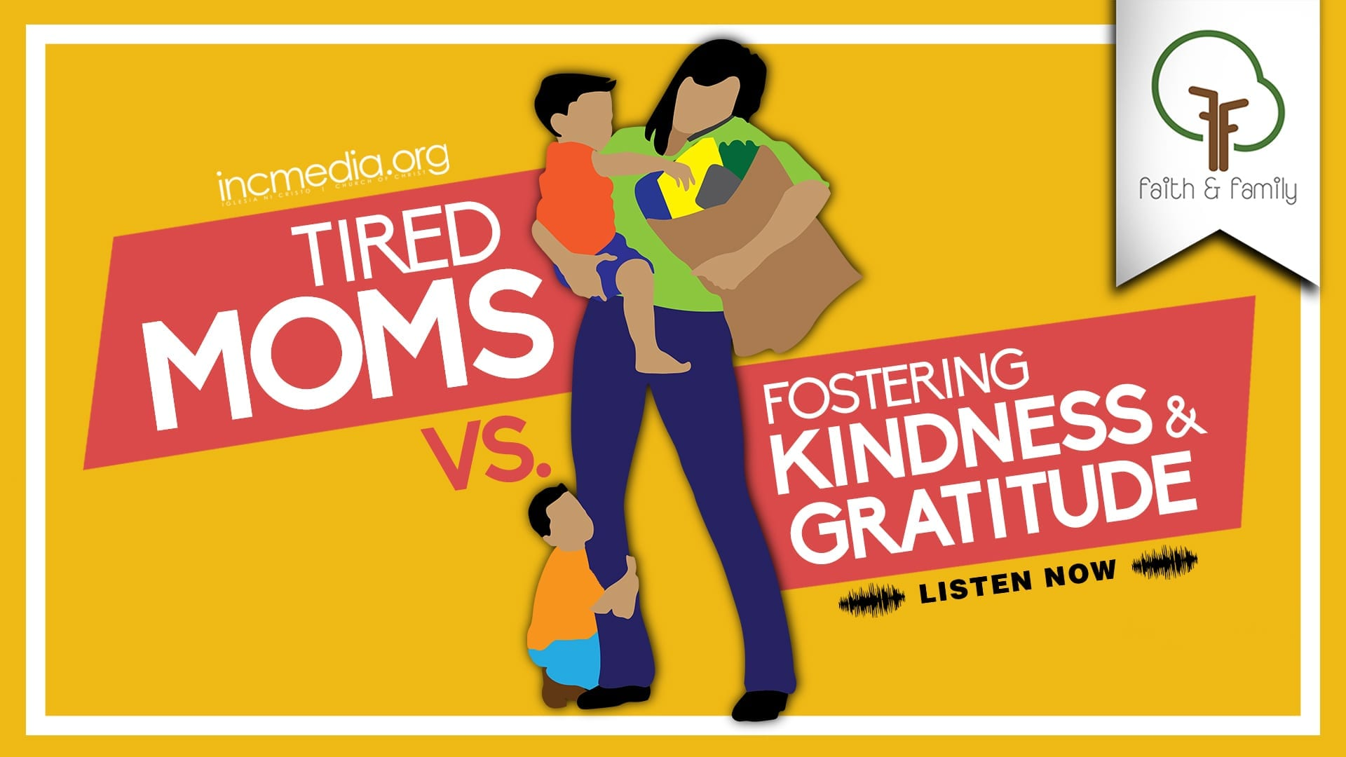 Tired Moms vs. Fostering Kindness and Gratitude