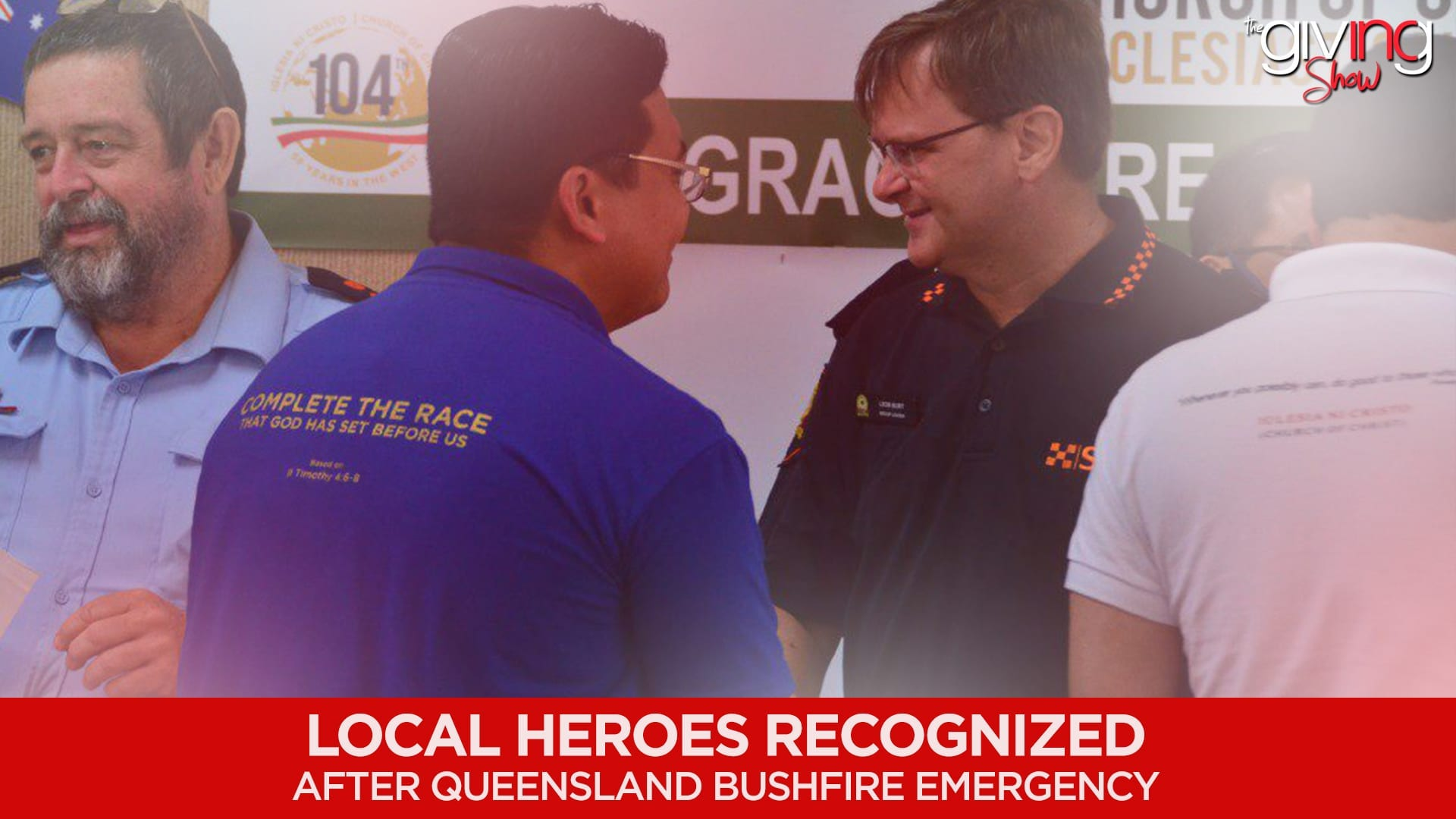 Local Heroes Recognized After Queensland Bushfire Emergency