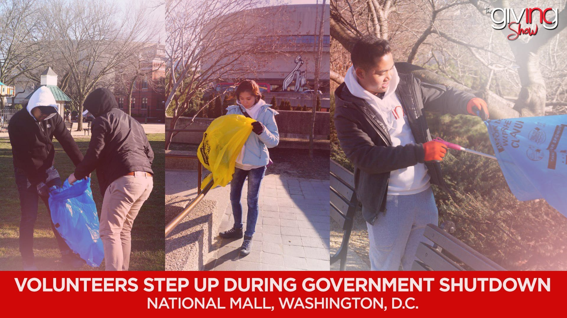 Volunteers Step up During Government Shut Down