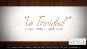 La Trinidad - el padre, el hijo, y el espiritu santo