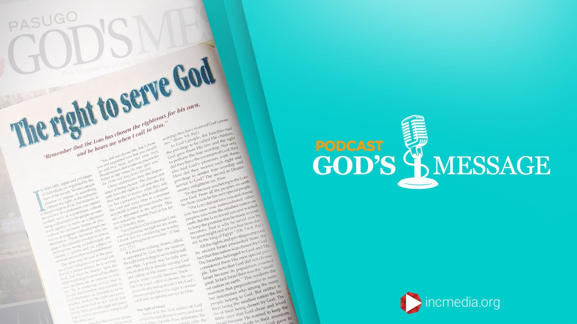 The Right To Serve God