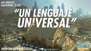 Un lenguaje universal en Los Angeles