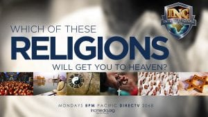 Which of these religions will get you to heaven?