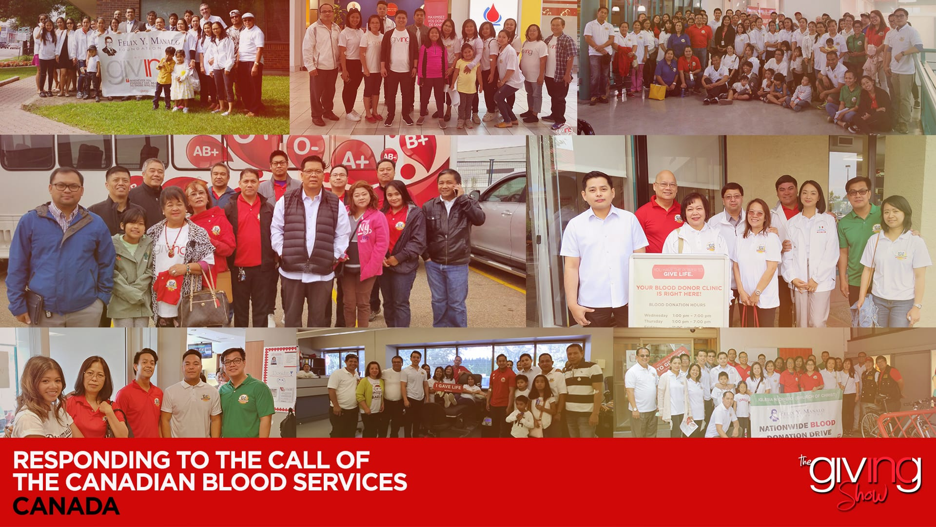 Responding to the Call of Canadian Blood Services