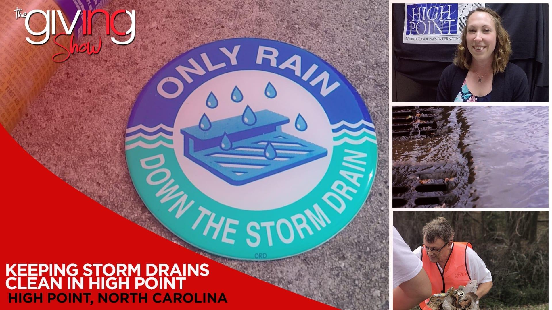 Keeping Storm Drains Clean