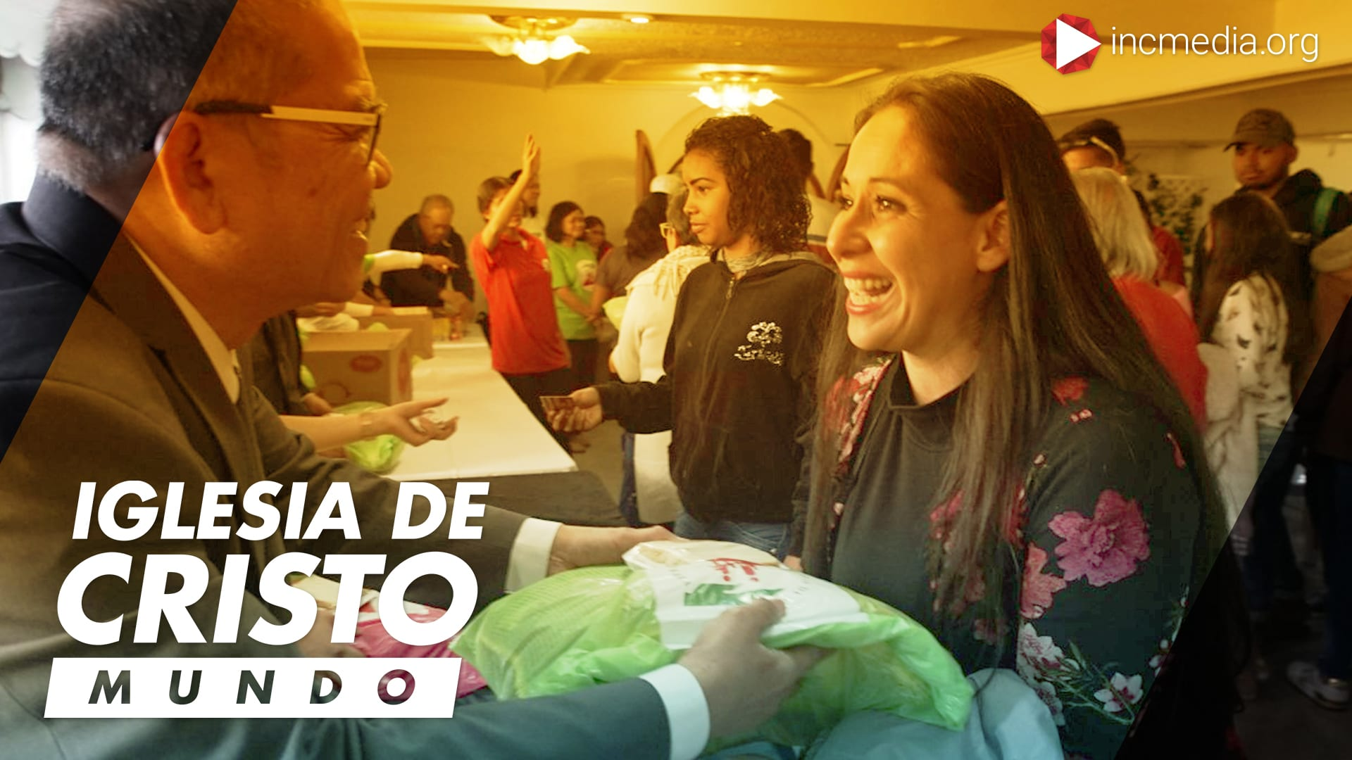 Migrantes venezolanos reciben ayuda de la Iglesia De Cristo