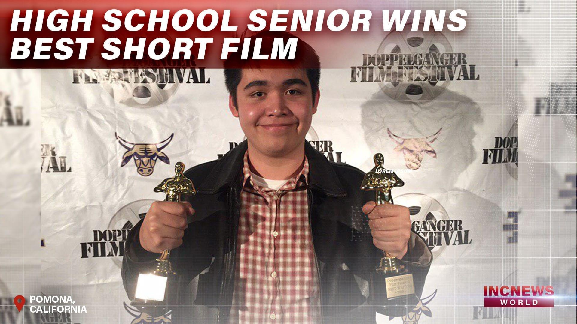 High School Senior Wins for Best Short Film