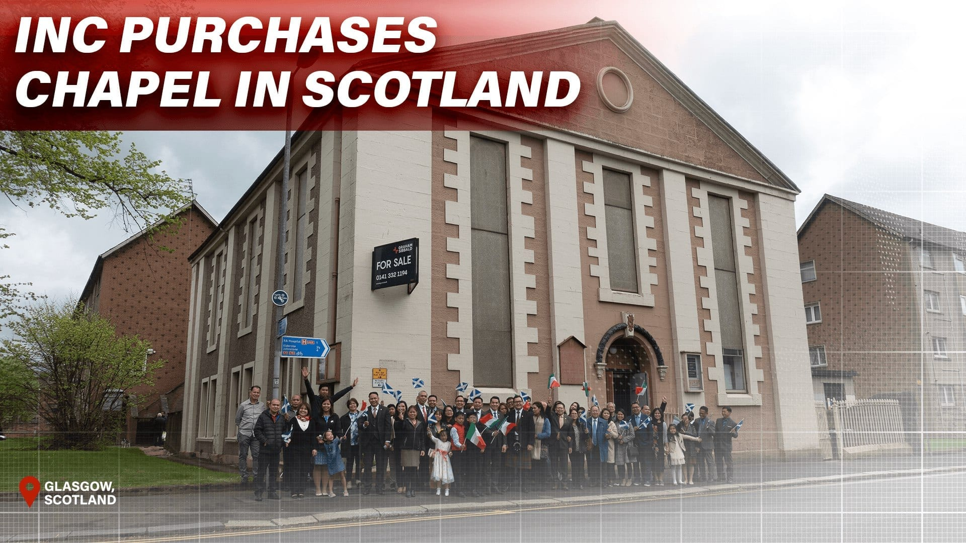 INC Purchases Chapel in Scotland