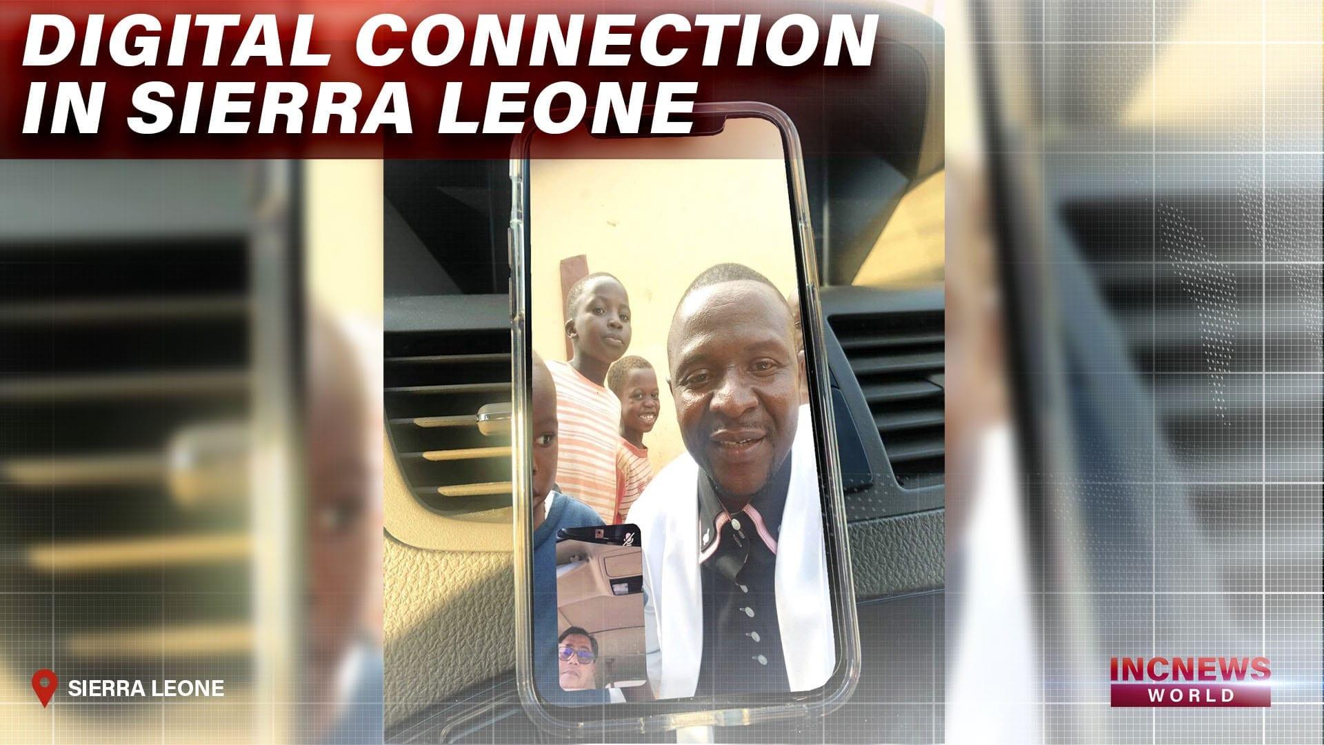 Digital Connection in Sierra Leone