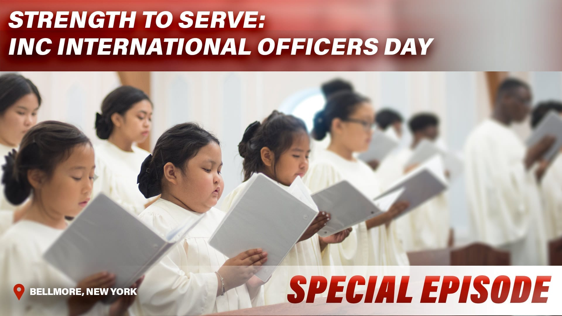 Strength To Serve: INC International Officers Day