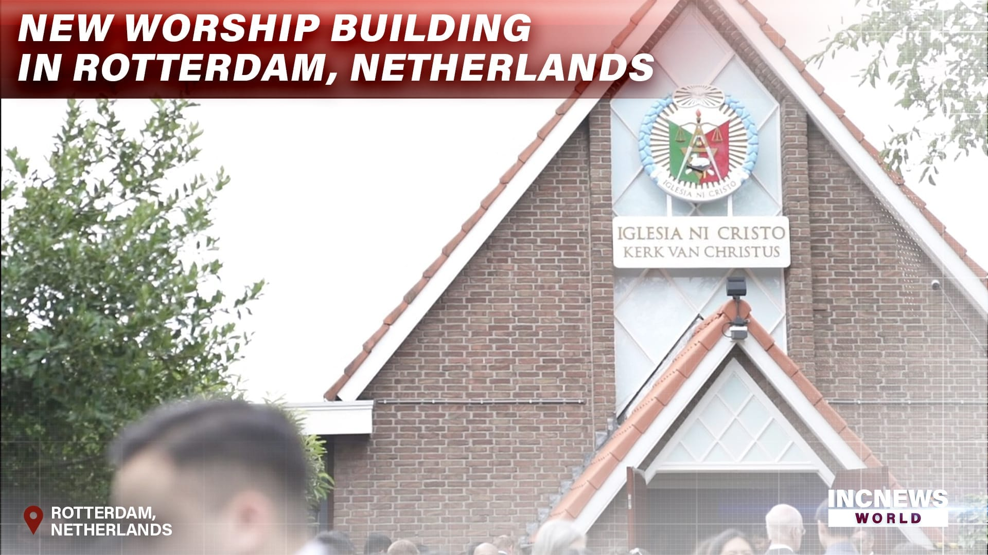 New Worship Building in Rotterdam, Netherlands