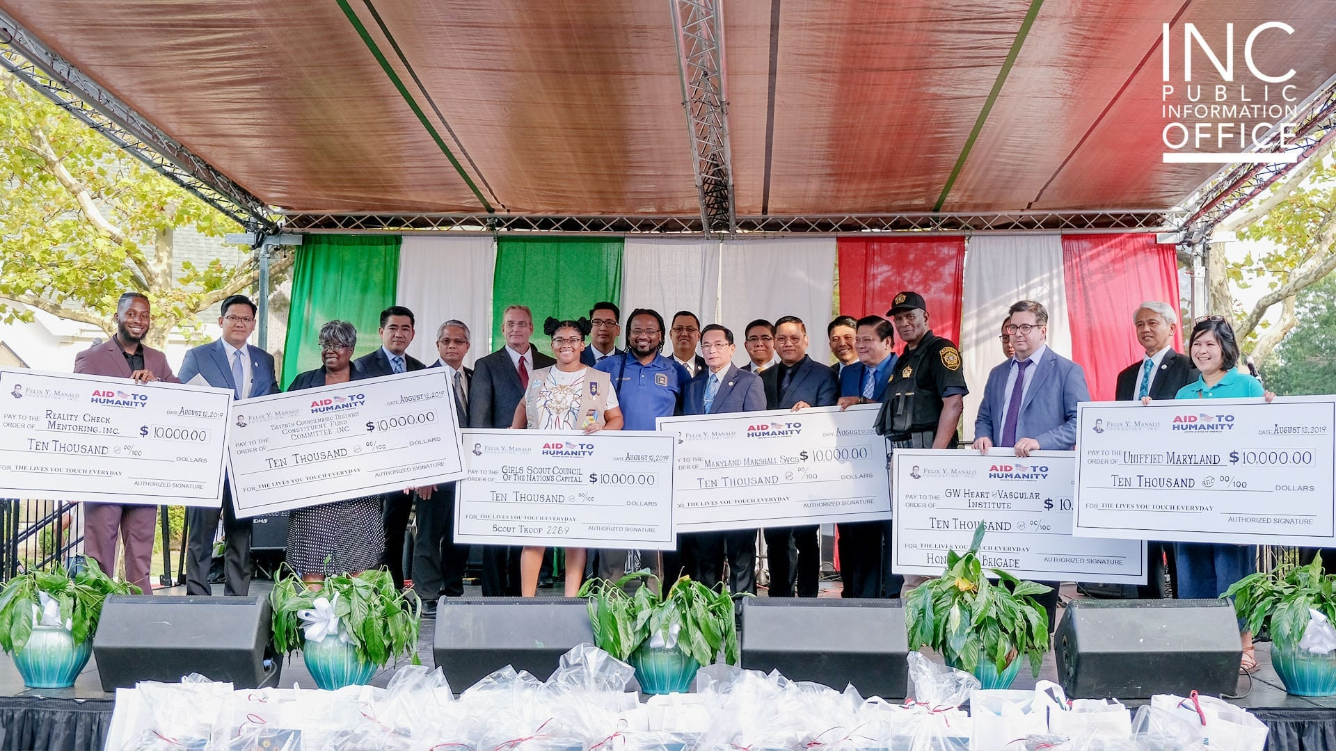 Six local organizations receive $10,000 in charitable donation funding at Aid to Humanity event