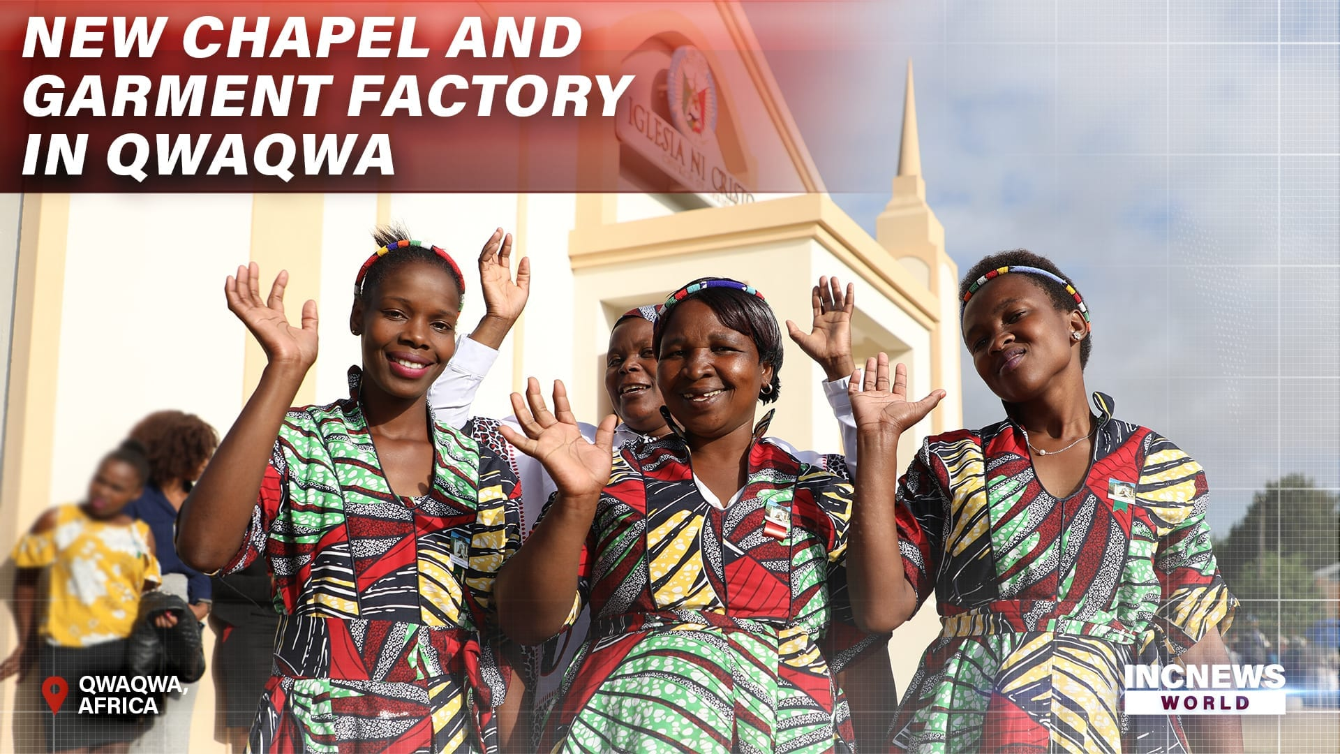 New Chapel and Garment Factory in Qwaqwa