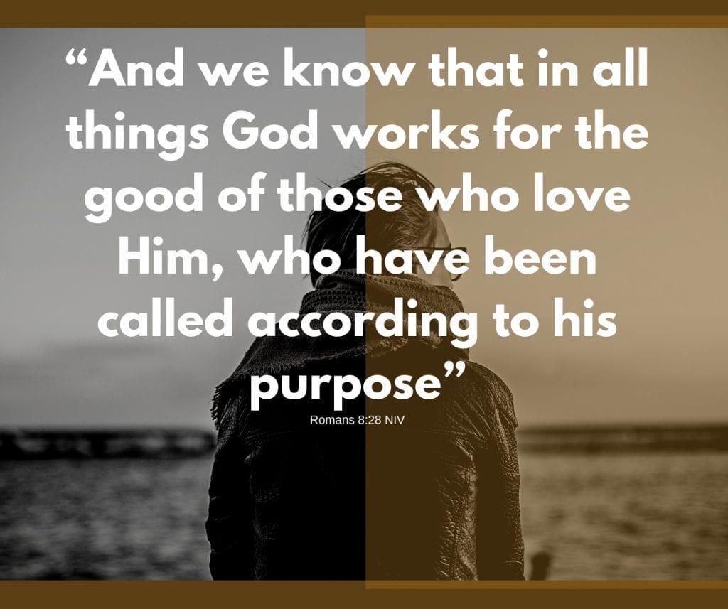 Romans 8:28 NIV