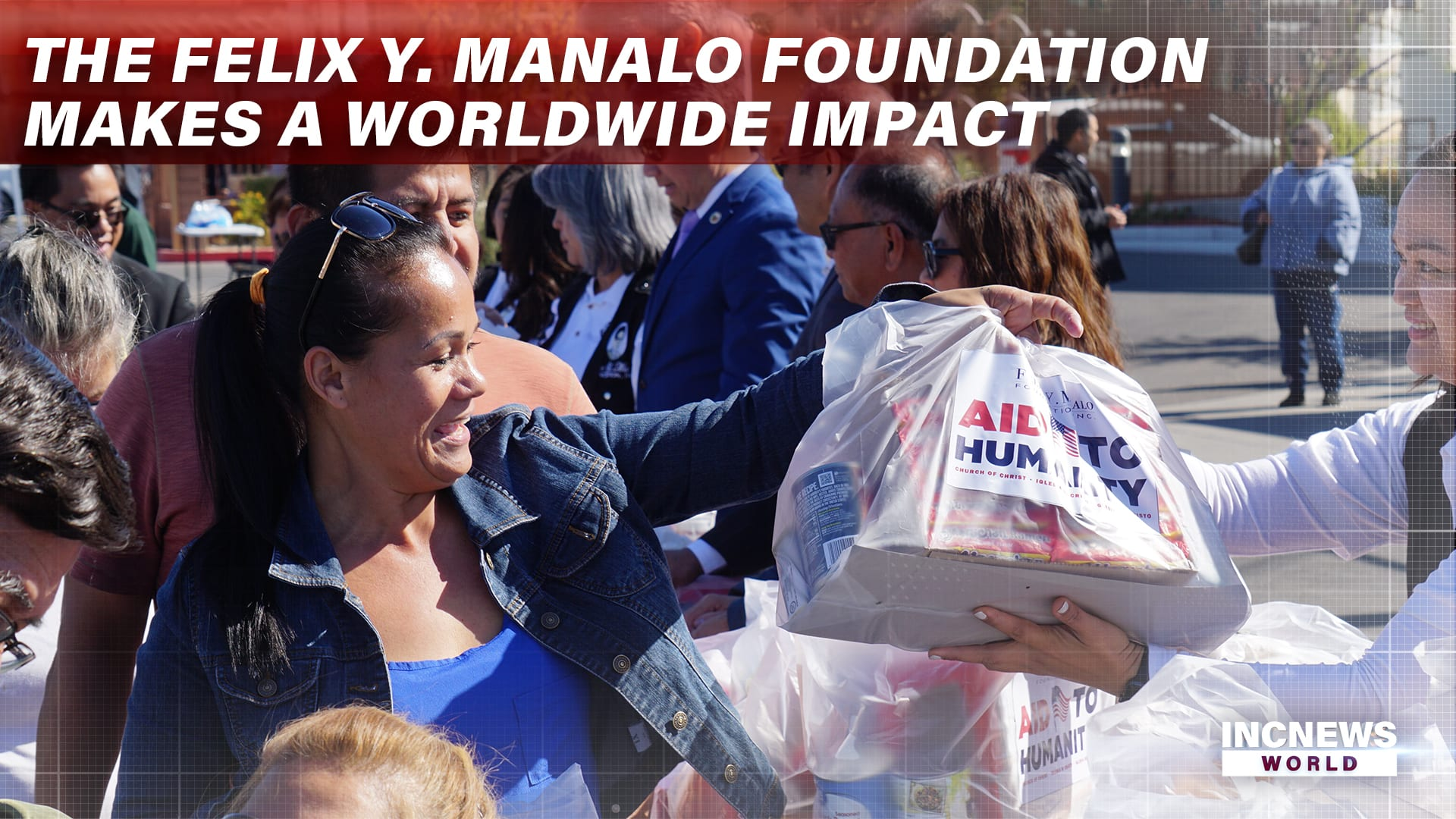 The Felix Y. Manalo Foundation Makes a Worldwide Impact